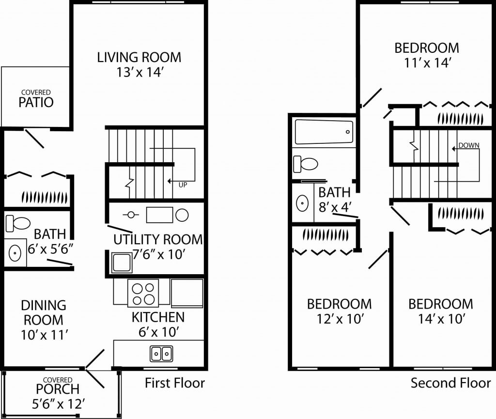 100 12 X 14 Bedroom Selby Commons 2 4