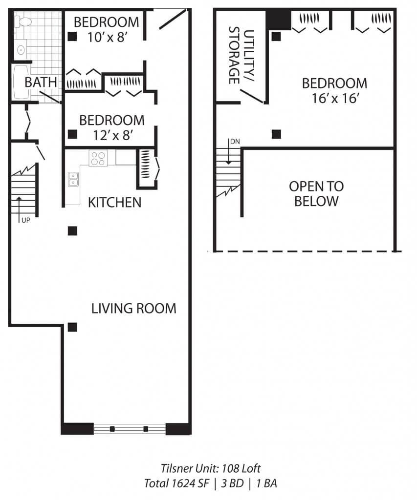3 Bedroom +